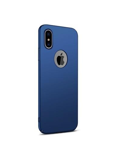 Microsonic iPhone XS (5.8'') Kılıf Premium Slim  Lacivert